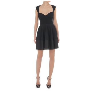 ALEXANDER MCQUEEN, Mini Dress, Exposed Bustier Mini-Dress