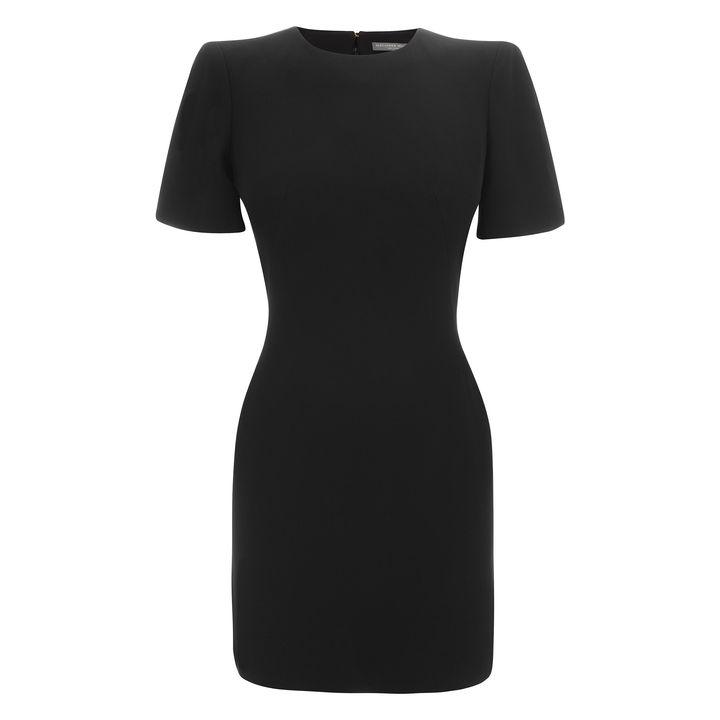 Alexander McQueen, Cape Shoulder Mini-Dress