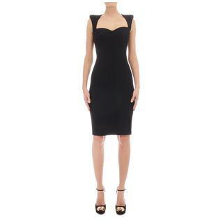 ALEXANDER MCQUEEN, Mid-length Dress, Cap Sleeve Pencil Dress