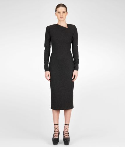 BOTTEGA VENETA - Light Flannel Jersey Dress