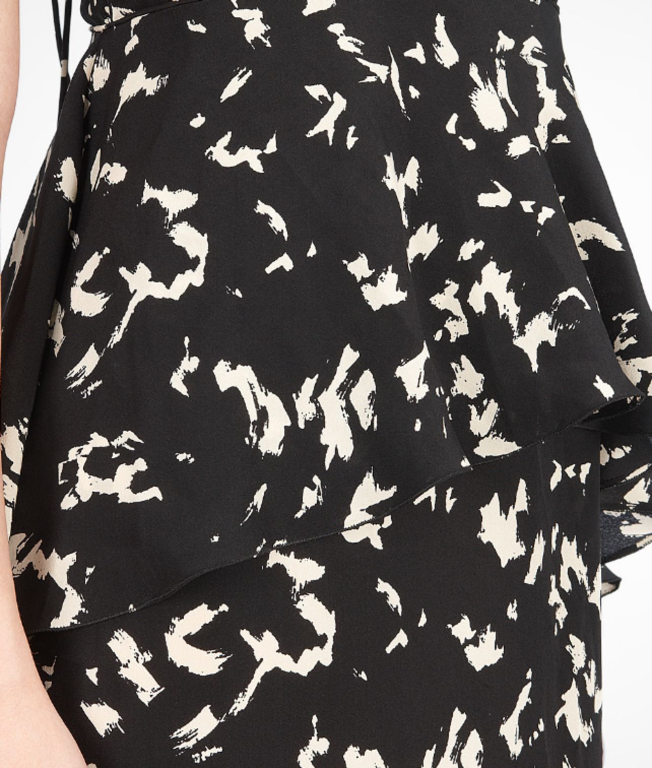 BOTTEGA VENETA - Silk Falling Leaves Print Dress