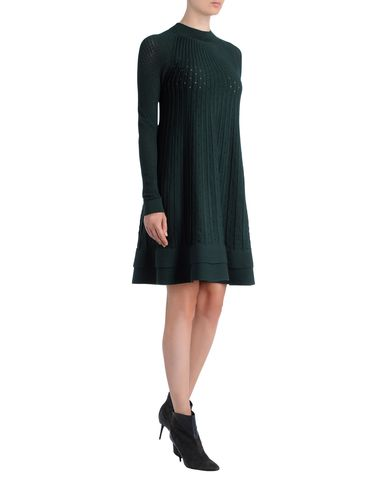 Fine Pleated Knit Dress