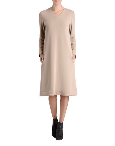 Satin Bonded Jersey Dress