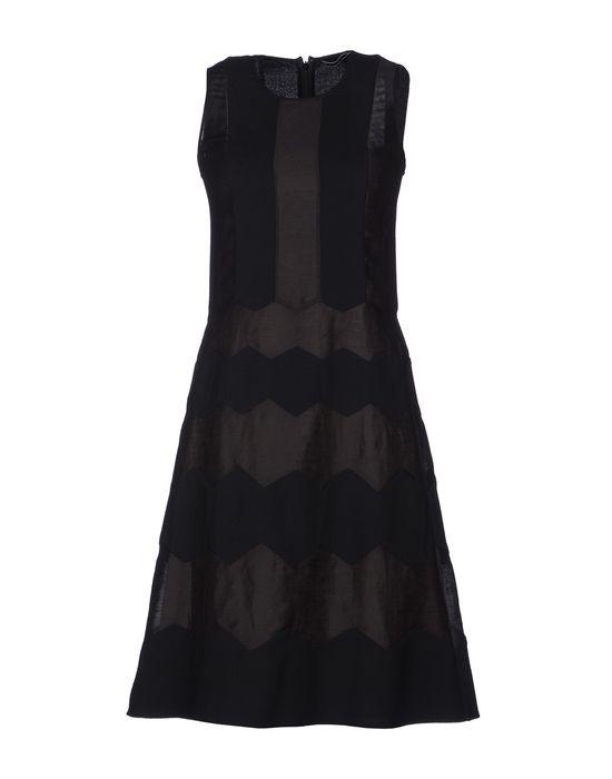 Короткое платье TOCCA. Цвет: черный