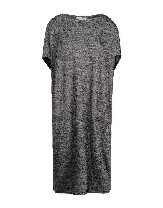 Короткое платье WHITE TENT. Цвет: серый