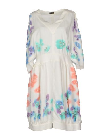 Короткое платье FENDI 34392040TT
