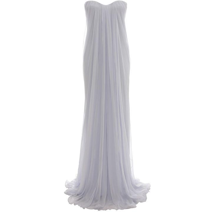 Alexander McQueen, Draped Bustier Gown
