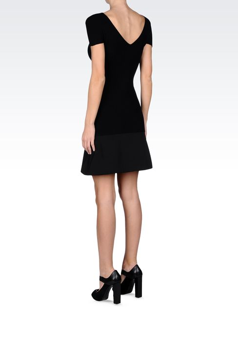 CORDUROY MINI DRESS: Short Dresses Women by Armani - 3