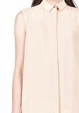T by ALEXANDER WANG SILK CHFFON OVER CDC SHIRT DRESS 3/4 length dress Adult 8_n_a