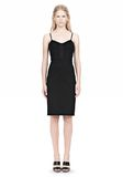 ALEXANDER WANG BUSTIER DRESS WITH CENTER MESH PANEL Short Dress Adult 8_n_f