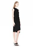 ALEXANDER WANG TWISTED DRAPE FRONT SLEEVLESS DRESS Short Dress Adult 8_n_d