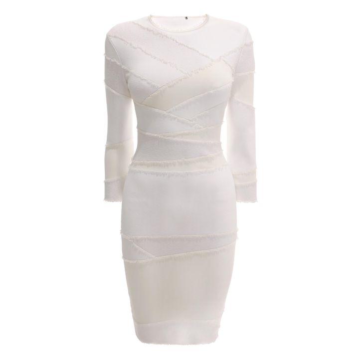Alexander McQueen, Bandage Knit Mini Dress