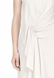 ALEXANDER WANG CASCADE FRONT SLEEVELESS DRESS Short Dress Adult 8_n_d