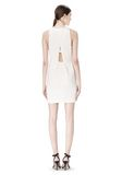 ALEXANDER WANG EXCLUSIVE CROSSOVER BACK SHIFT DRESS Short Dress Adult 8_n_r
