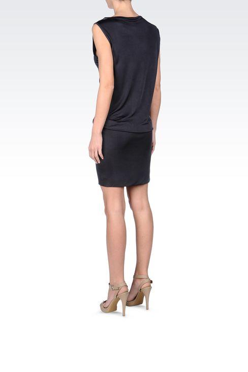 JERSEY SHORT DRESS: Short Dresses Women by Armani - 3