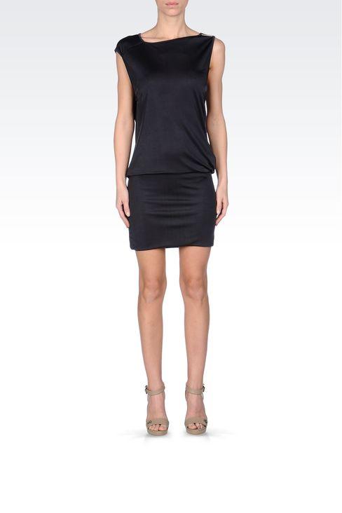 JERSEY SHORT DRESS: Short Dresses Women by Armani - 1