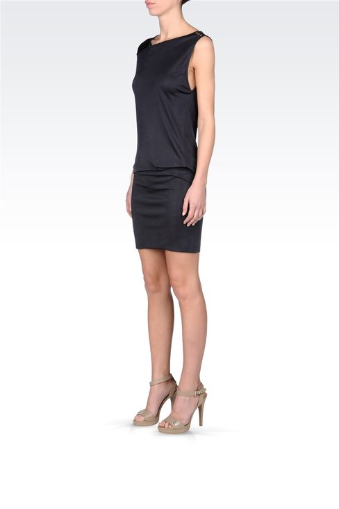 JERSEY SHORT DRESS: Short Dresses Women by Armani - 2