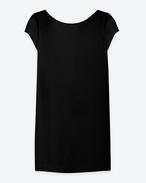 Classic Tube Mini Dress IN BLACK JERSEY