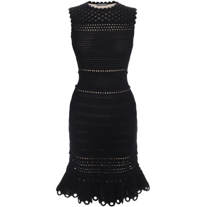 Alexander McQueen, Crochet Knit Mini Dress