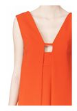 ALEXANDER WANG EXCLUSIVE SLEEVELESS DRESS WITH BOX PLEATS Short Dress Adult 8_n_a