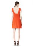ALEXANDER WANG EXCLUSIVE SLEEVELESS DRESS WITH BOX PLEATS Short Dress Adult 8_n_r