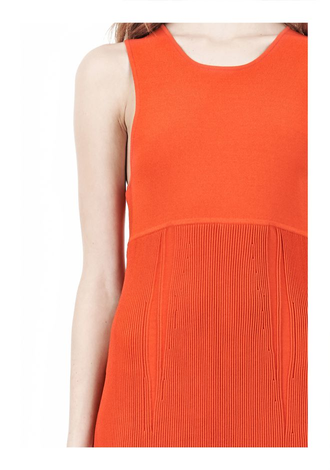 ALEXANDER WANG TUBULAR STRIPE TANK DRESS Short Dress Adult 12_n_d