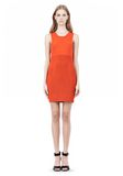 ALEXANDER WANG TUBULAR STRIPE TANK DRESS Short Dress Adult 8_n_f