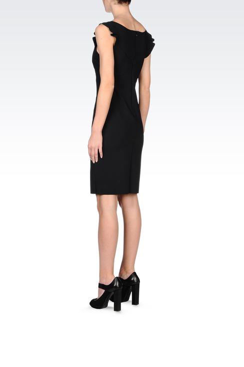 CLASSIC TUBE DRESS IN NEOPRENE: Short Dresses Women by Armani - 3