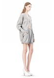 ALEXANDER WANG ARGYLE MENS INSPIRED CARDIGAN AND BOXER KNIT DRESS Adult 8_n_e