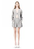 ALEXANDER WANG ARGYLE MENS INSPIRED CARDIGAN AND BOXER KNIT DRESS Adult 8_n_f