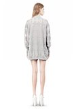 ALEXANDER WANG ARGYLE MENS INSPIRED CARDIGAN AND BOXER KNIT DRESS Adult 8_n_r