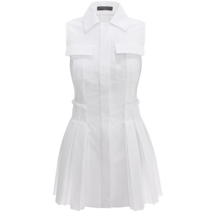 Alexander McQueen, Box Pleat Shirt Dress