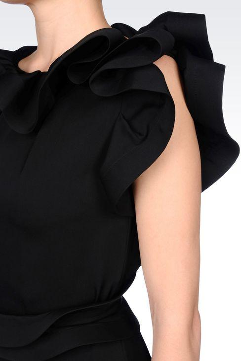 SILK PARTY DRESS: 3/4 Length Dresses Women by Armani - 5