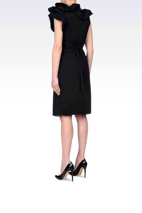 SILK PARTY DRESS: 3/4 Length Dresses Women by Armani - 4
