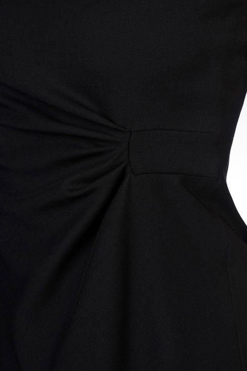DRESS IN STRETCH WOOL: 3/4 Length Dresses Women by Armani - 5