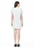 T by ALEXANDER WANG DRAPE SUITING VNECK DRESS Short Dress Adult 8_n_r