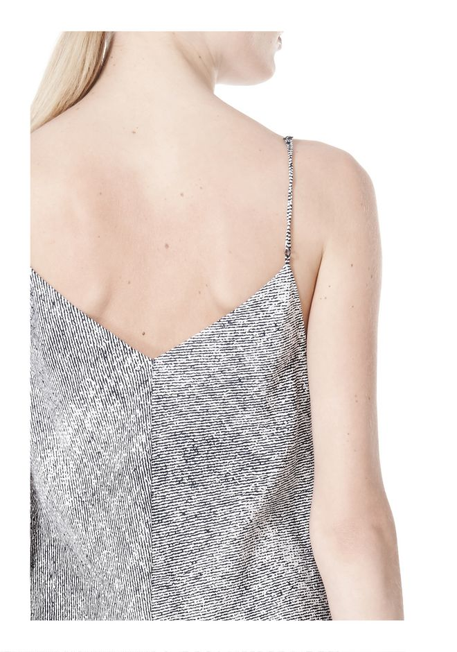 T by ALEXANDER WANG GEORGETTE SLIP DRESS 3/4 length dress Adult 12_n_a