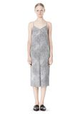 T by ALEXANDER WANG GEORGETTE SLIP DRESS 3/4 length dress Adult 8_n_f