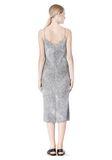 T by ALEXANDER WANG GEORGETTE SLIP DRESS 3/4 length dress Adult 8_n_r