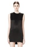 ALEXANDER WANG DRESS WITH EXPOSED DISTRESSED BACK 3/4 length dress Adult 8_n_d