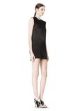 ALEXANDER WANG DRESS WITH EXPOSED DISTRESSED BACK 3/4 length dress Adult 8_n_e