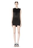 ALEXANDER WANG DRESS WITH EXPOSED DISTRESSED BACK 3/4 length dress Adult 8_n_f