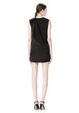 ALEXANDER WANG DRESS WITH EXPOSED DISTRESSED BACK 3/4 length dress Adult 8_n_r