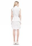 ALEXANDER WANG DOUBLE SLEEVE POPLIN SHIRTDRESS  Short Dress Adult 8_n_r