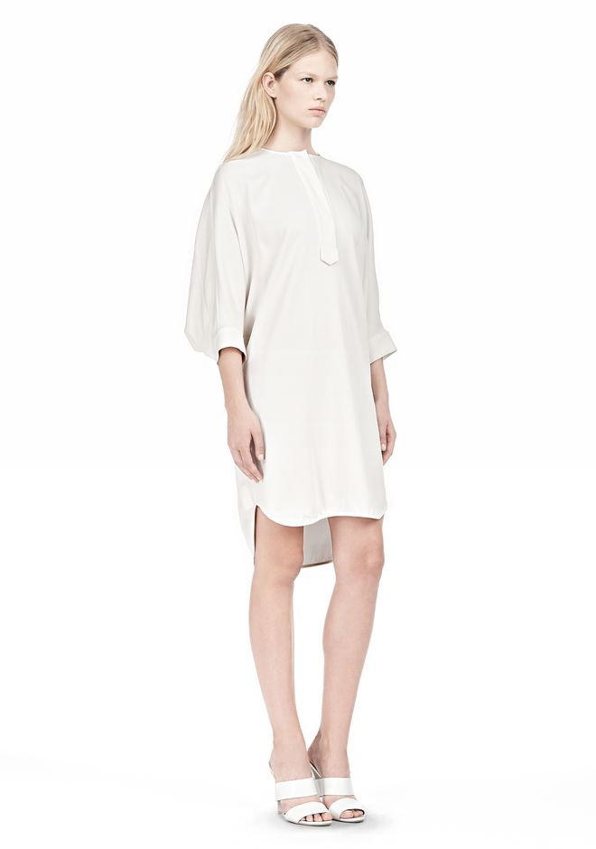 ALEXANDER WANG DOLMAN SLEEVE SHIRT DRESS Short Dress Adult 12_n_e