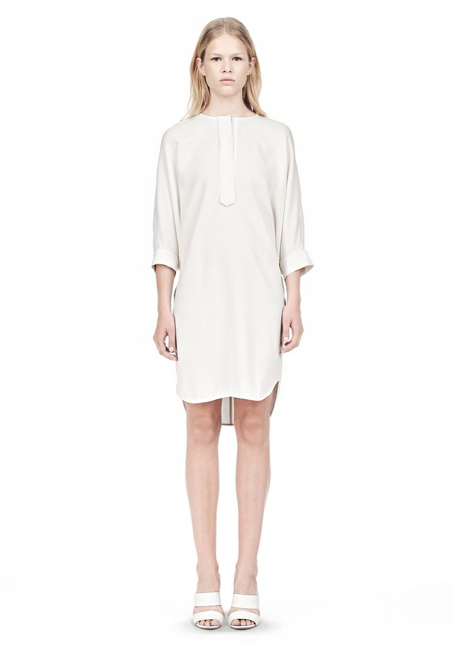 ALEXANDER WANG DOLMAN SLEEVE SHIRT DRESS Short Dress Adult 12_n_f