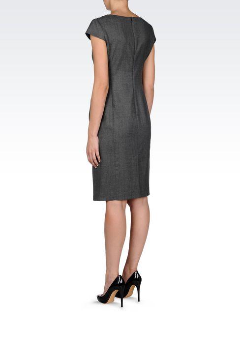 FLANNEL DRESS: 3/4 Length Dresses Women by Armani - 4
