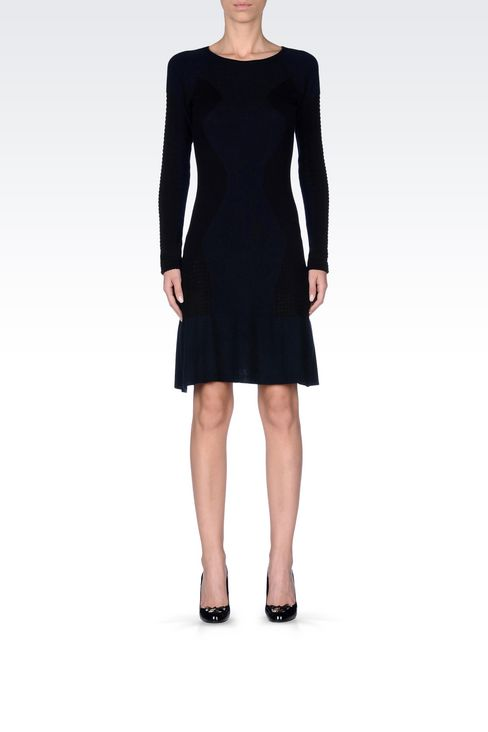 KNIT DRESS: Short Dresses Women by Armani - 3