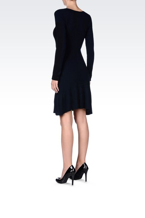 KNIT DRESS: Short Dresses Women by Armani - 4