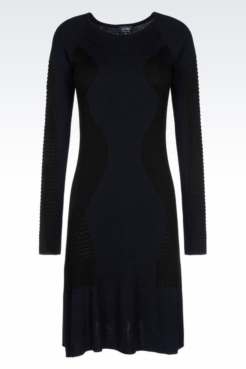 KNIT DRESS: Short Dresses Women by Armani - 1